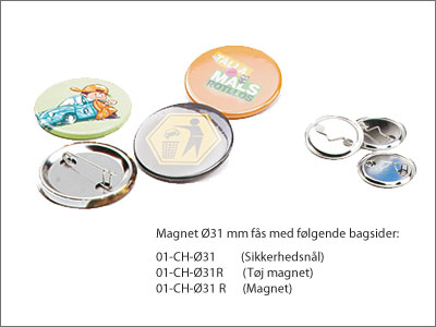 Badges 31 mm